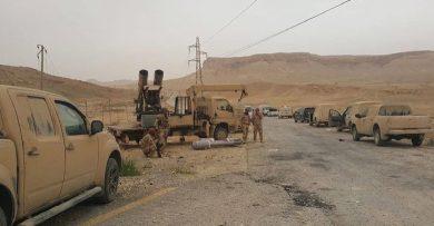 Photo of اشتباكات عنيفة بين الجيش وداعش في بادية السخنة