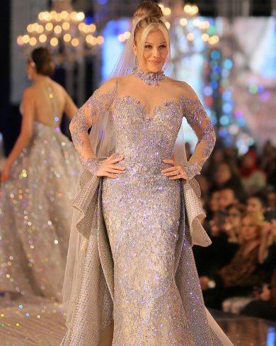 Photo of فستان نيكول سابا بـ10 ملايين دولار