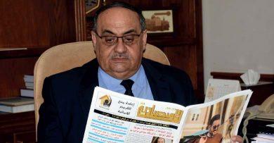 Photo of وزير الزراعة أحمد القادري لـ«الاقتصادية»: 2.7 مليون طن إنتاج متوقع للقمح ونأمل شراء أكثر من نصف القابل للتسويق