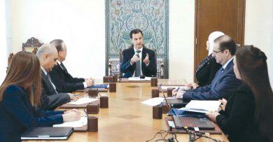 Photo of شدد على أهمية تحديد وحصر أسباب المعوقات التي واجهته وطرق معالجتها … الرئيس الأسد: ضرورة تحديد أولويات العمل بمشروع الإصلاح الإداري بما يضمن إنجازاً حقيقياً على الأرض