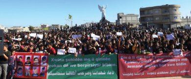 Photo of بعد أن يئسن من قدرة ميليشيات «قسد» على حمايتهن … نساء يطالبن الدولة بحماية مناطقهن من الاحتلال التركي