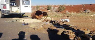 Photo of ضبط سيارة مفخخة معدّة للتفجير على طريق دمشق درعا الدولي