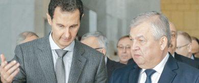 Photo of تأكيد روسي سوري مشترك على مواصلة مكافحة الإرهاب … الرئيس الأسد يبحث «إدلب» و«أستانا» المقبلة مع لافرنتييف وفيرشينين