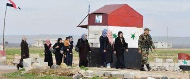 Photo of هدنة إدلب صامدة.. الأهالي يتحدّون الإرهابيين ويجتازون المعابر إلى حلب وحماة